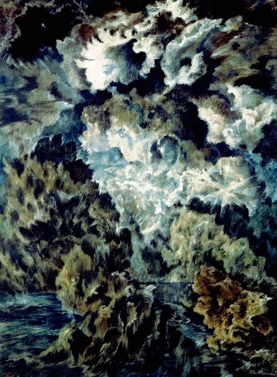 Les oreilles du ciel – 1960 – Masonite 1.01 x 0.76