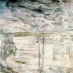 L'eau haute – 1979 – Panneau 1.20 x 1.20