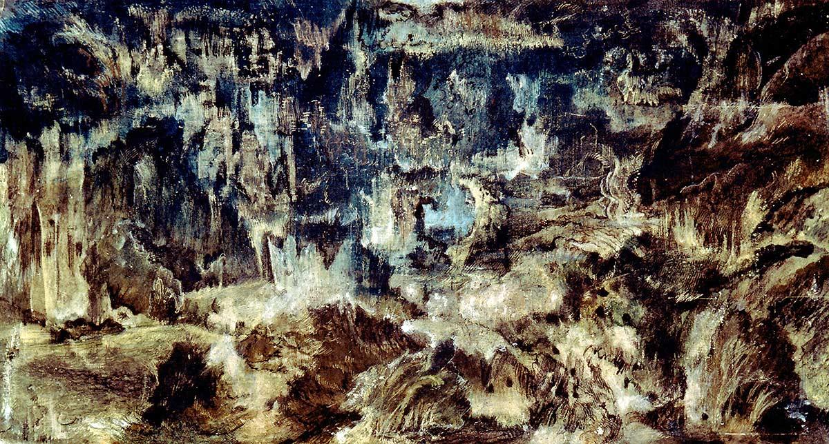 La grotte bleue – 1956