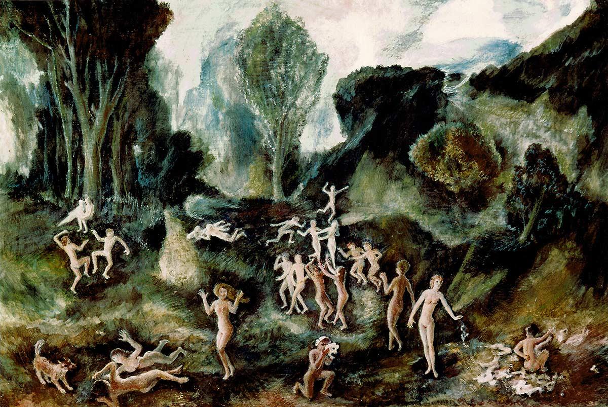 Duellum – 1971 – Panneau 0.63 x 0.92